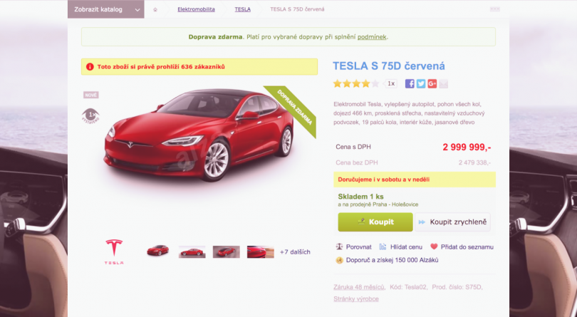 Description: Want to buy a microwave? Why don't you buy a Tesla instead?