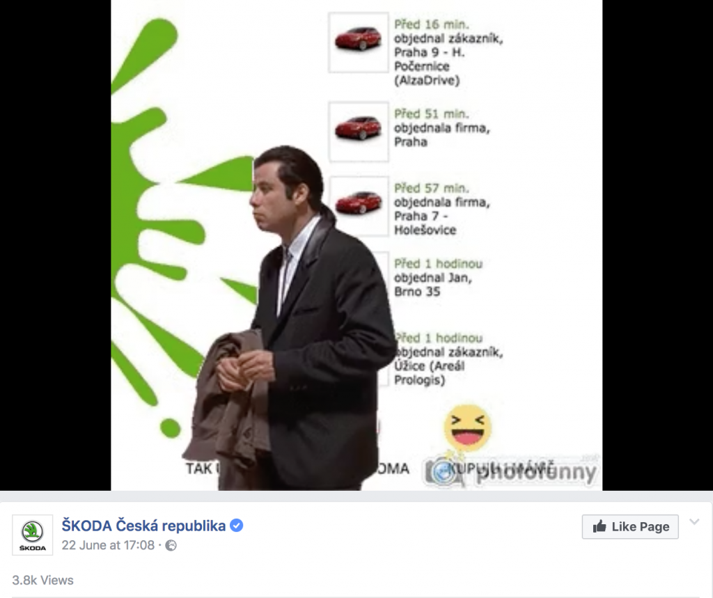 When your own competitor fires back at you, it's expected. But once a very respected company takes the time to react - you know there will be chaos. And it's even worse when it's Škoda, which is Czech Republic's national treasure and undoubtedly a love brand.