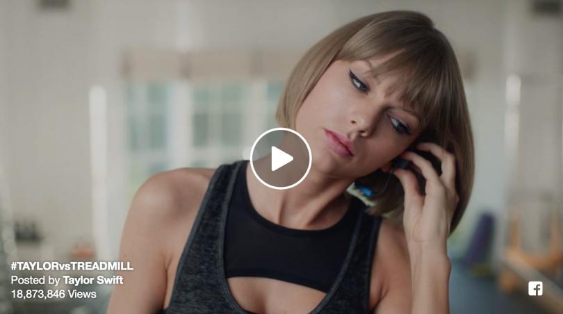 taylor vs treadmill viral ad